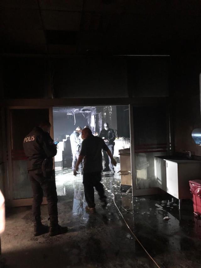 Gaziantep'de 10 kişinin öldüğü koronavirüs yoğun bakımındaki yangın faciası 'Geliyorum' demiş