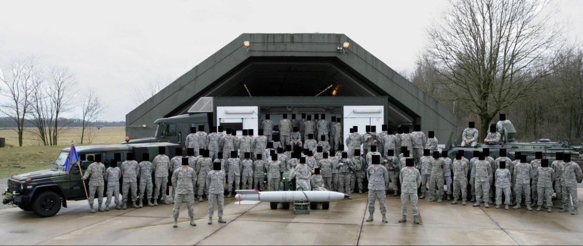 ABD askerleri, Avrupa'daki nükleer silahların yerlerini yanlışlıkla ifşa etti #3