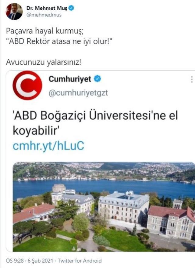 ABD, Boğaziçi Üniversite'ne el koyabilir mi? AK Parti'den iddialara yanıt