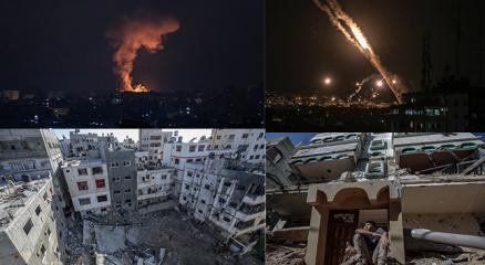 İsrailden Gazze Şeridine hava ve kara operasyonu! İşte son haberler
