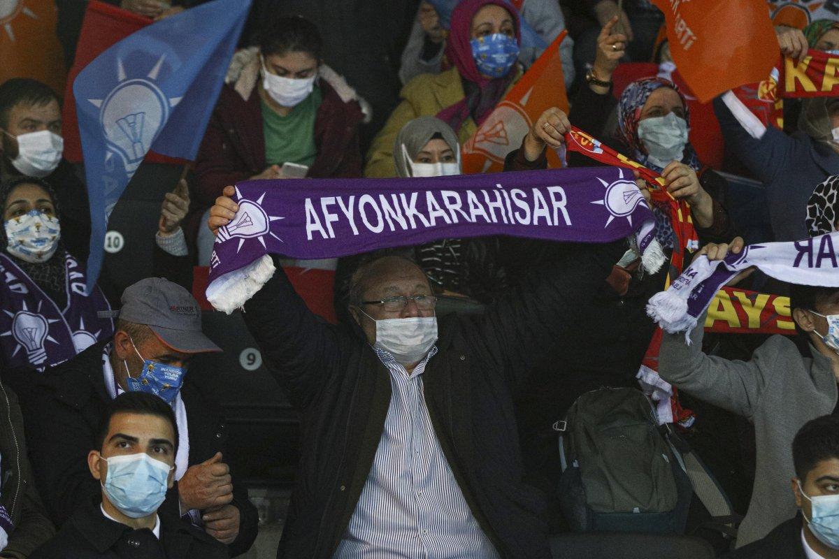 AK Parti'nin 7'nci Olağan Büyük Kongresi için partililer salona alındı #2
