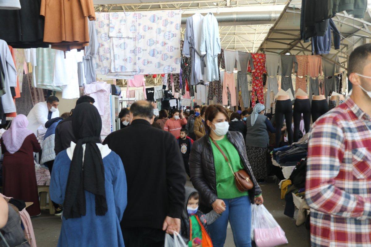 Antalyalılar pazarlara akın etti #3