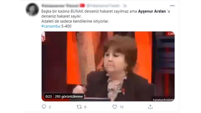 Ayşenur Arslan ile Baro Başkanının 'Bunak' değerlendirmesi sosyal medyada gündem oldu
