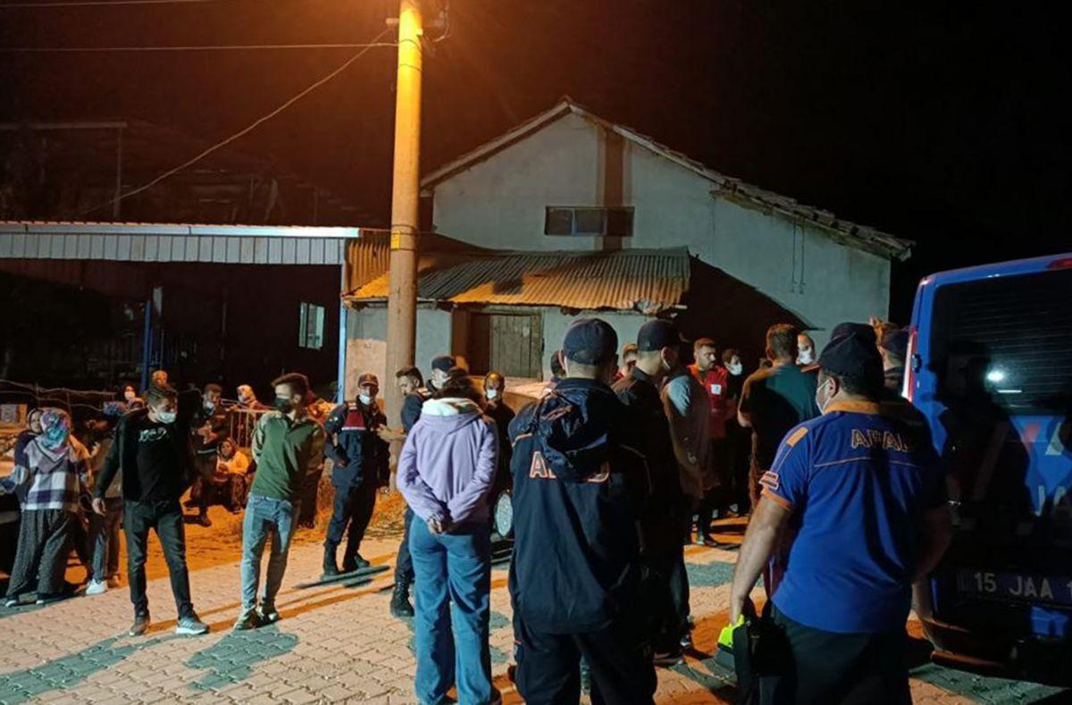 Burdur da ekiplerin aradığı kayıp kadın, sabah evine döndü #1