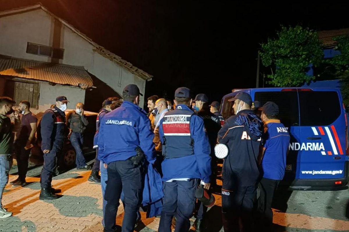 Burdur da ekiplerin aradığı kayıp kadın, sabah evine döndü #4