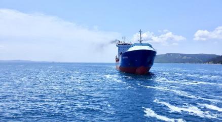136 metrelik gemi Çanakkalede arızalandı