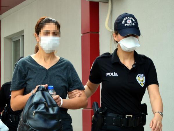 Cezaevindeki PKK'lılara ayakkabı ile talimat gönderen kadın yakalandı