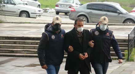 Teröristlere evini açan CHP Kırıkhan ilçesi örgütüne kayıtlı olduğu ortaya çıkan Mehmet K. adliyeye sevk edildi