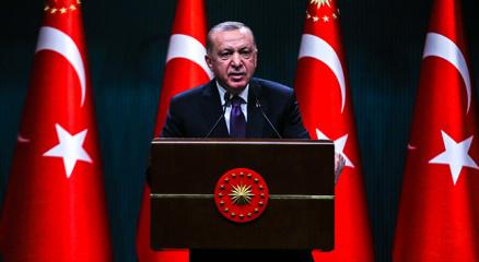 Cumhurbaşkanı Erdoğan: Sınırlarımız ötesinde herhangi bir terör oluşumuna izin vermeyeceğiz