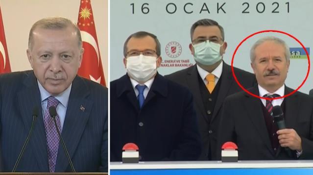 Cumhurbaşkanı Erdoğan, açılışta konuşmak isteyen ismi böyle uyardı: O mikrofonu milletvekilimize ver
