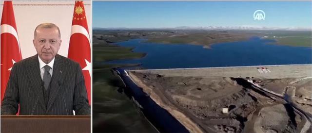 Cumhurbaşkanı Erdoğan'dan kuraklığa dikkat çekti: 150 yeraltı barajını tamamlamayı hedefliyoruz