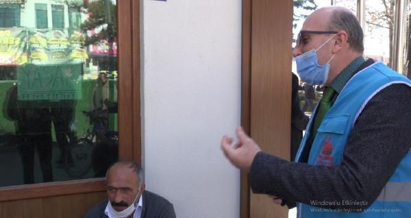 Denetimde maskesiz yakalanan vatandaştan pes dedirten savunma: Ben eski pehlivanım