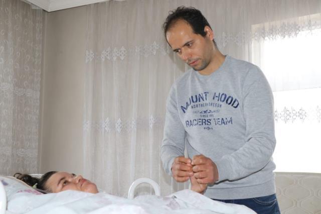 Doğumda iki kez kalbi duran kadın hayata döndürüldü ancak yatağa bağımlı hale geldi