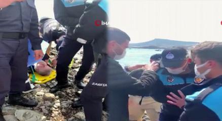 İzmirde askeri uçak düştü! 2 pilotumuz sağ olarak kurtarıldı