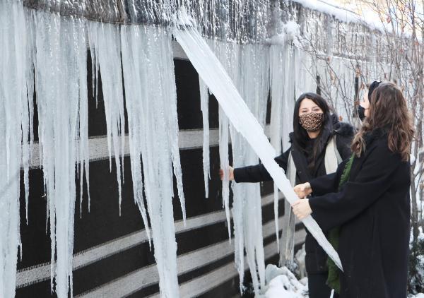 Erzurum eksi 30'u gördü, Doğu buz kesti