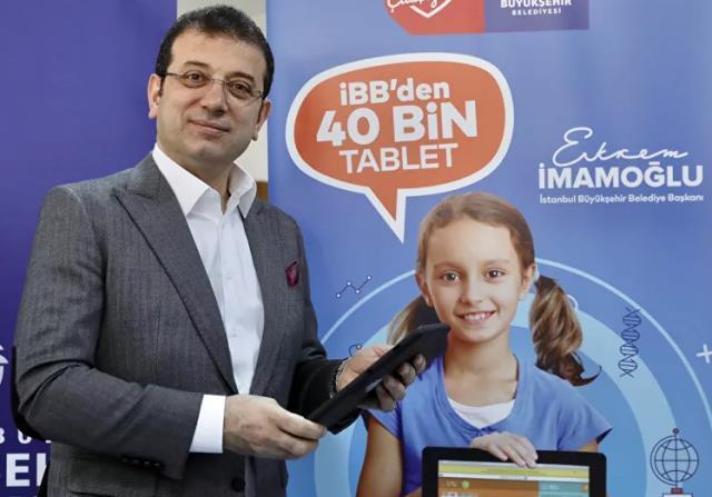 Erdoğan'dan İmamoğlu'na tablet tepkisi: Bizim ilçe belediyemiz 50 bin tablet dağıttı