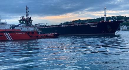 İstanbul Valiliğinden kıyıya sürüklenen tankere ilişkin açıklama