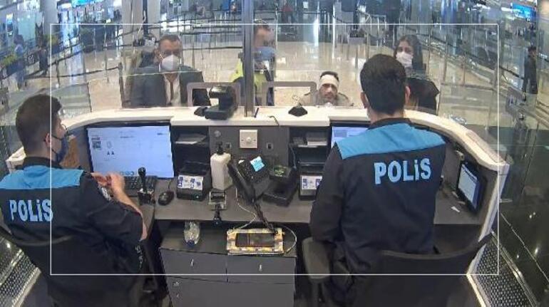 İstanbul Havalimanında akılalmaz kaçakçılık operasyonu Maske inince gerçek ortaya çıktı