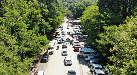 İlk kısıtlamasız cumartesi gününde İstanbullular, Belgrad Ormanına akın etti
