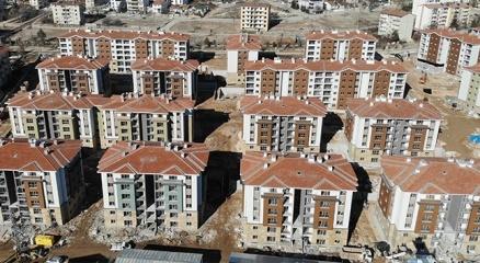 Elazığda binlerce modern deprem konutu hızla yükseliyor
