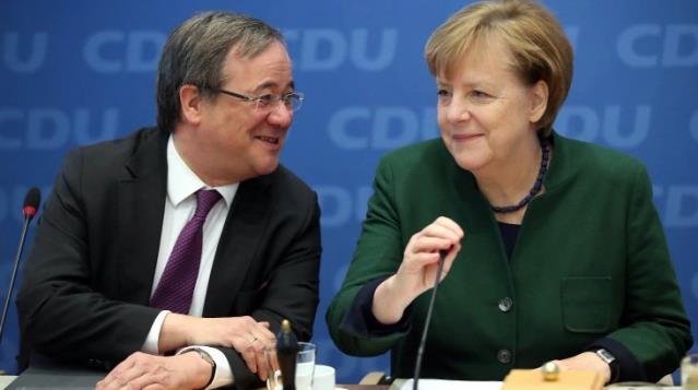 Merkel'in partisinin yeni genel başkanı Türk Armin olarak bilinen Armin Laschet oldu