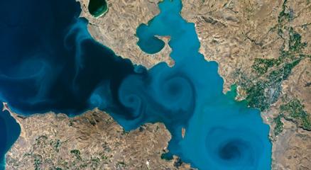 Van Gölüne oy yağmuru: NASAnın sitesi çöktü