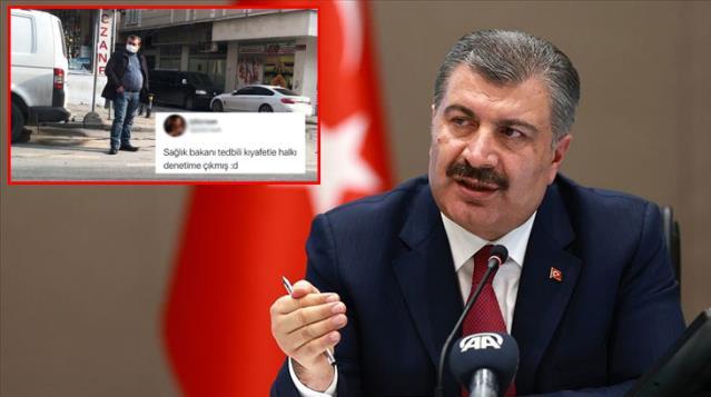 Sağlık Bakanı Fahrettin Koca'ya benzeyen vatandaş sosyal medyada gündem oldu! Fotoğrafa binlerce yorum geldi