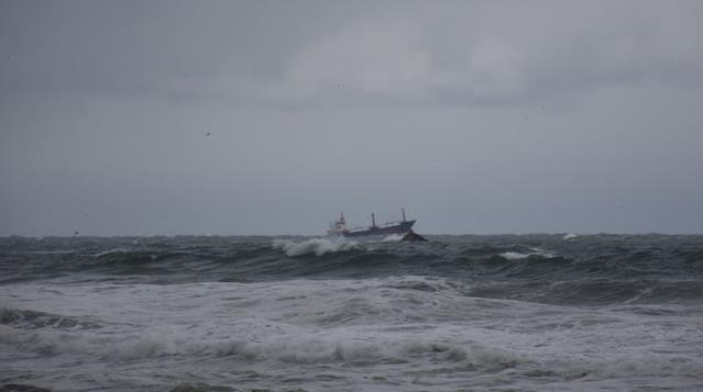 Son Dakika! Bartın'ın İnkumu açıklarında Rus bandıralı kuru yük gemisi battı