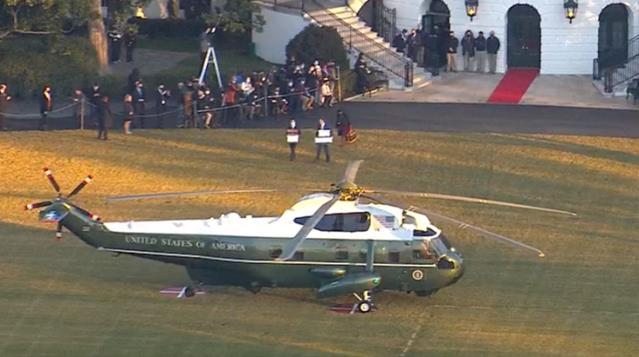 Son dakika! Donald Trump, başkanlığının bitmesine saatler kala Beyaz Saray'a veda ediyor