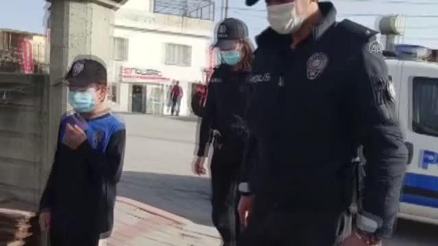 Son dakika haberi   Adana İl Emniyet Müdürü İnci'den polislik hayali kuran çocuğa üniforma sürprizi