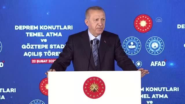 Son dakika haberleri: Cumhurbaşkanı Erdoğan: 81 il, 922 ilçenin tamamında bugüne kadar 1,5 milyon konutun dönüşümünü tamamladık