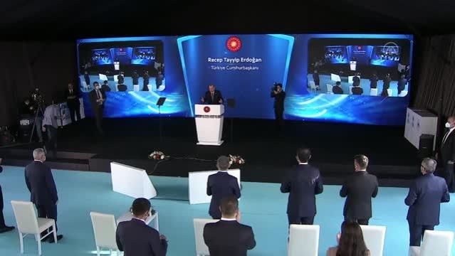 Son dakika haberleri: Cumhurbaşkanı Erdoğan: Bayraklı'daki rezerv alanda inşa edeceğimiz konutları, stok dönüşüm konutu olarak da kullanacağız