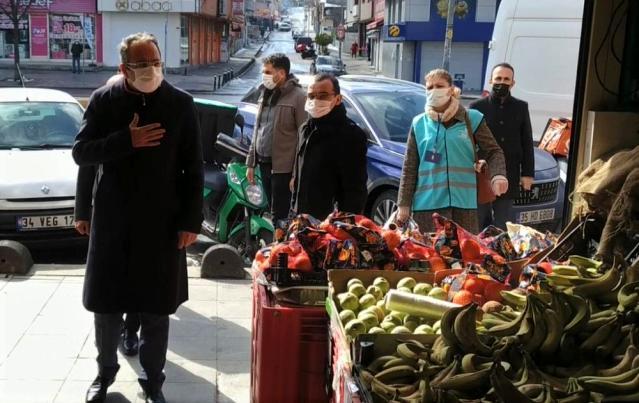 Sultanbeyli'de Kovid-19 denetimleri devam ediyor