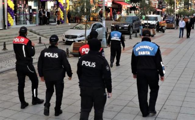 Sultanbeyli'de yapılan koronavirüs denetimlerinde 10 milyon TL'lik ceza kesildi