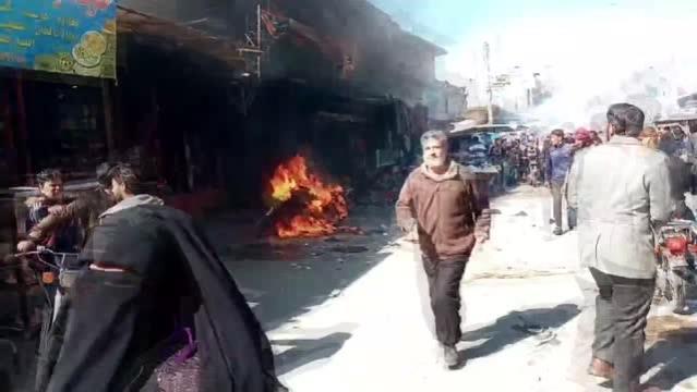 - Suriye'de bomba yüklü motosiklet patladı: 3 ölü
