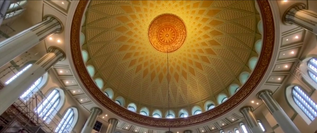 Taksim Camii nin içi ilk kez görüntülendi #2