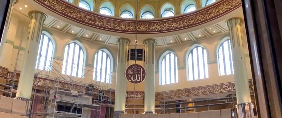 Taksim Camii nin içi ilk kez görüntülendi #4