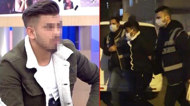 Televizyon programına katılan genç, istismar ettiği kızın kendisini görüp ihbar etmesiyle program çıkışı gözaltına alındı