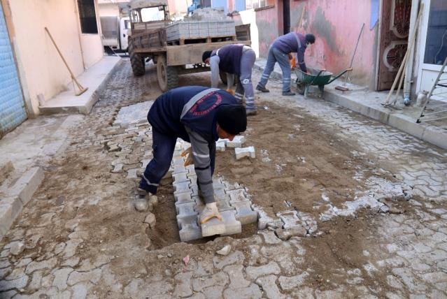 Turgutlu'da parklar bahara hazırlanıyor