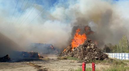 Enerji santralinde çıkan yangında sabotaj iddiası
